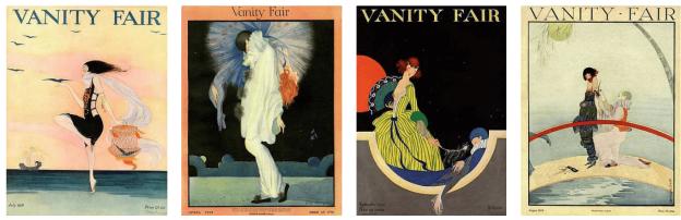 Rita Senger Vanity Fair covers