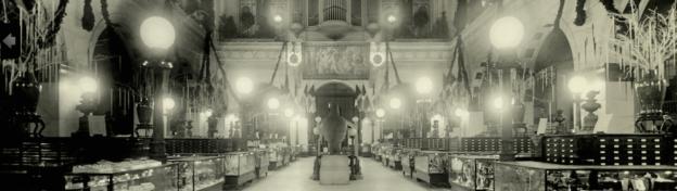 Floor of Wanamaker's department store, 1920.
