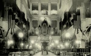 Interior of Wanamaker's store, 1920.